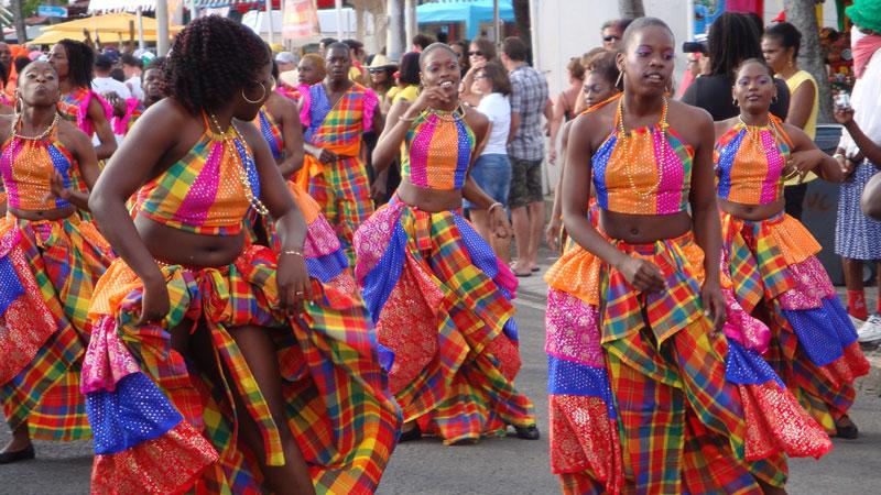 Karneval och vandring på Dominica - Västindien