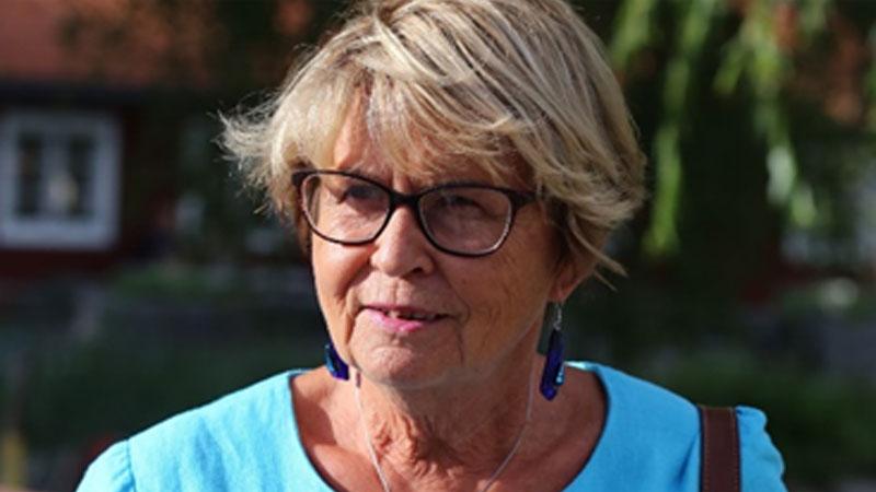 Färdledare Lilian Thybell